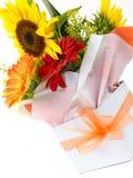Basket Of Flowers Royalty Free Stock Image