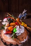 Basket of food Royalty Free Stock Photography