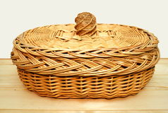 Free Basket For Bread. Stock Photography - 12016072