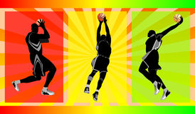 Basket free style. Show your free style in basket ball, vector illustration Stock Image