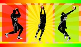 Basket free style Stock Image