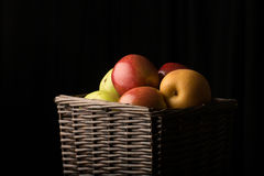 Basket of Fruit Royalty Free Stock Photos