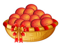 A basket of fruits Royalty Free Stock Photos