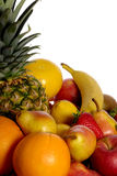 Basket full of fruits Royalty Free Stock Photo