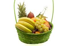 Basket full of fruits Royalty Free Stock Image