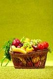 Basket Full Of Fresh Produce. Royalty Free Stock Image