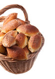 Basket full of pasties Stock Photos