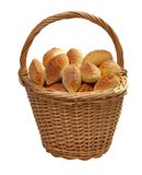 Basket full of pasties Royalty Free Stock Photography