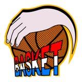 Basket game Royalty Free Stock Photos