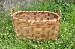 Basket in the garden Royalty Free Stock Photos