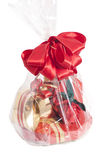 Basket with gifts Stock Photography