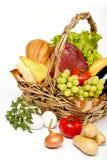 Basket of goods Royalty Free Stock Photo