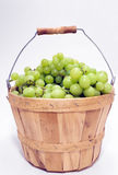 Basket of Grapes Stock Image