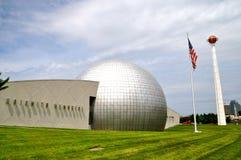 Basket Hall av berömmelse Arkivbild