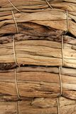 Basket handcrafted texture macro closeup Royalty Free Stock Photography