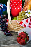 Basket Of Health Stock Photography
