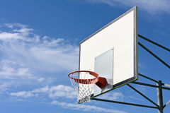 Basket hoop Royalty Free Stock Image