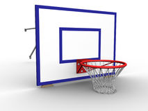 Basket Hoop Ground Stock Photo