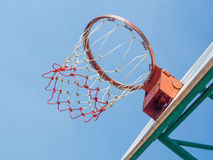 Basket and hoop. Stock Image