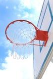 Basket hoop over sky 3 Stock Photo