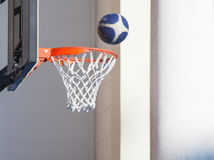 Basket hoop Royalty Free Stock Photo