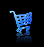 Basket icon Royalty Free Stock Photos