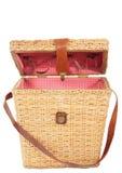 Basket. Isolated Stock Photo