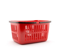 Basket isolated Stock Photography