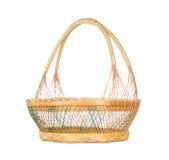 Basket isolated on white. Background Royalty Free Stock Photos