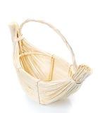 Basket isolated on white background Decorated Royalty Free Stock Image