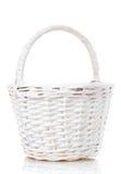 Basket isolated on white background Decorated Stock Image