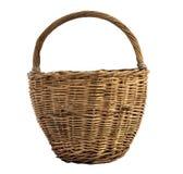 Basket isolated on white background Royalty Free Stock Image