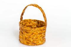 Basket isolated on white Stock Images