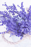 Basket of Lavender Stock Photography