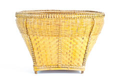 Basket made of bamboo Stock Images
