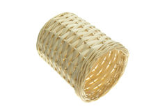 Basket made from bamboo Royalty Free Stock Photo