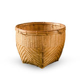 Basket made from bamboo Royalty Free Stock Photos