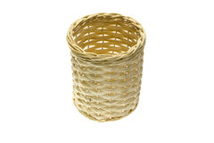 Basket made from bamboo Stock Photo