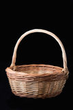 Basket made of birch bark Royalty Free Stock Photography