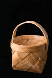 Basket made of birch bark Stock Image
