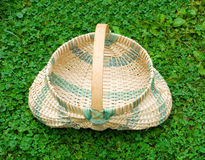A basket made in the traditional way by settlers in the appalachians Stock Image
