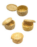 Basket made ​​from water hyacinth Stock Photography