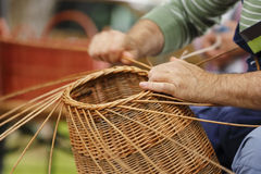 Basket maker Stock Images