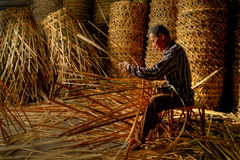 The Basket Maker Royalty Free Stock Image
