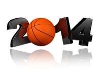 Basket 2014 Arkivfoton