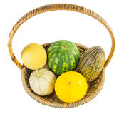 A Basket of Melons II Royalty Free Stock Photo