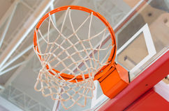 Basket and network Stock Image