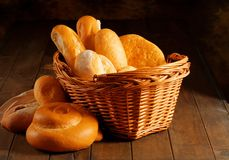 Free Basket Of Bread Royalty Free Stock Photography - 7876687