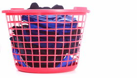 Basket Of Laundry Royalty Free Stock Photos