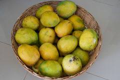 Free Basket Of Peter Mangos In Nigeria Royalty Free Stock Image - 55596176